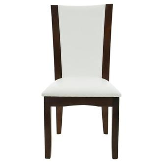 Brooks White Side Chair