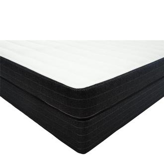 Daria Queen Mattress w/Low Foundation by Palm
