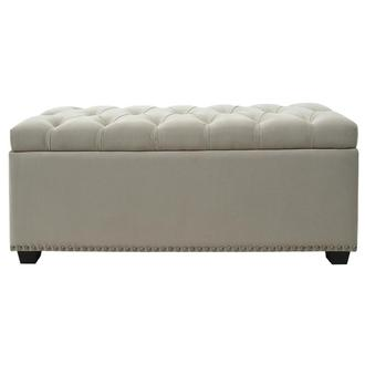 Majestic II Cream Storage Bench