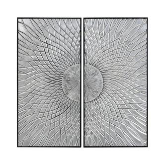 Sole D'argento Set of 2 Wall Decor