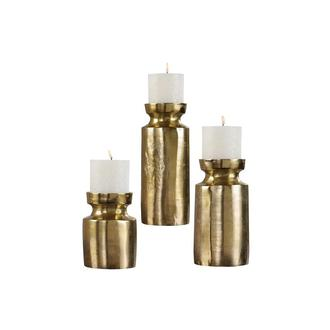 Andrea Set of 3 Candle Holders