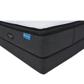 Harmony Cayman-Med Soft Full Mattress w/Regular Foundation by Simmons