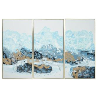 Rocheuse Set of 3 Canvas Wall Art Set of 3