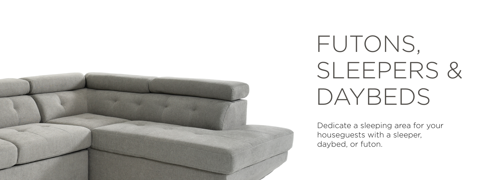 Futons, Sleepers & Daybeds