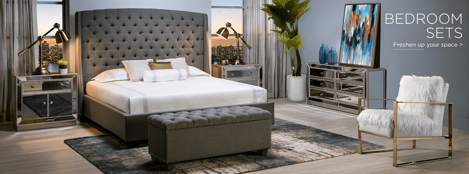 Bedroom Sets. Freshen up your space
