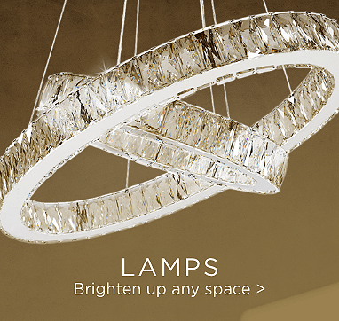 Lamps. Brighten up any space