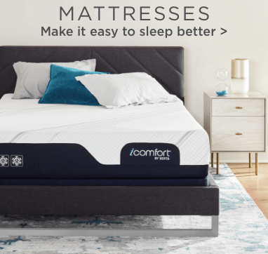 Mattresses. Make it easy to sleep better.