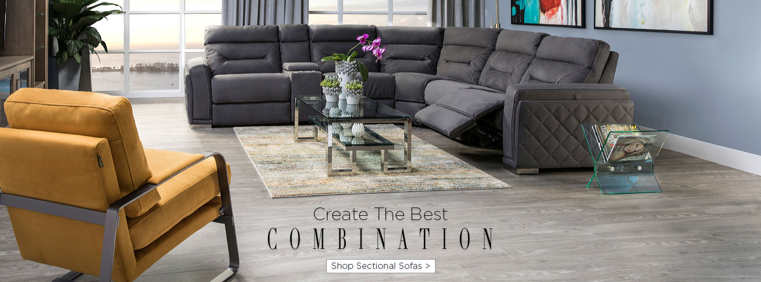 Create the best combination. Shop sectional sofas.