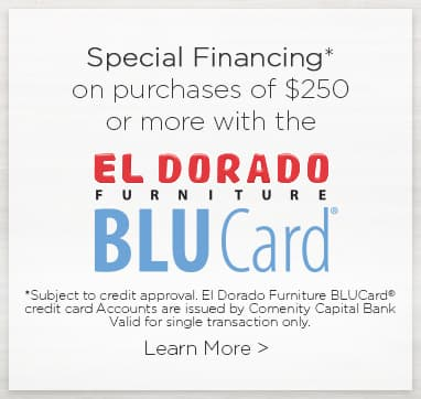 El Dorado Credit Card >> El Dorado Furniture A Different Kind Of Furniture Store